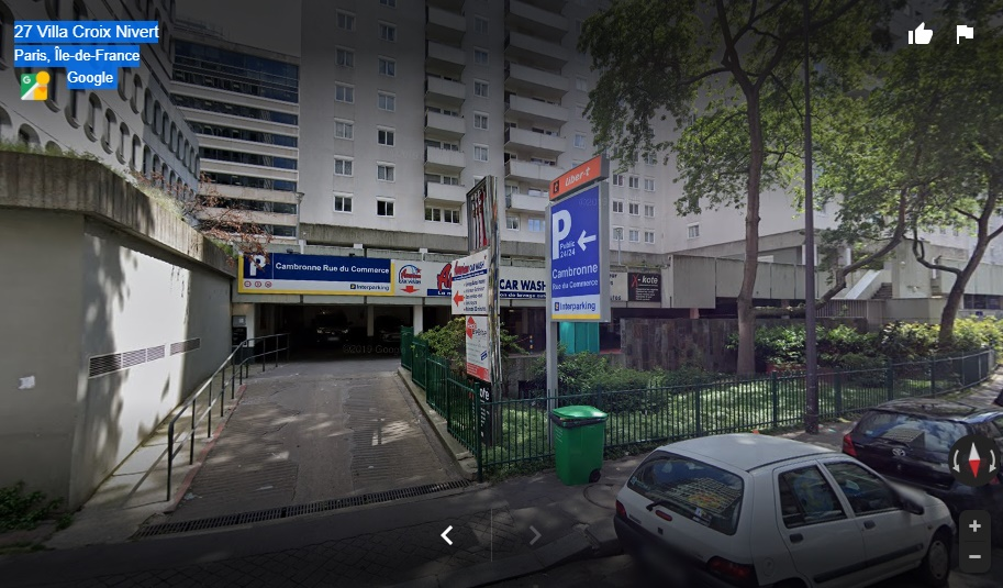 Parking Paris Cambronne